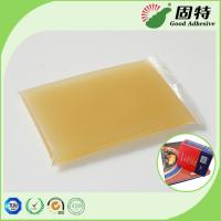 China Gelatin resin Amber color Block solid Strongest Wood Solid Animal Jelly Glue Light Amber Color High Solid Content on sale