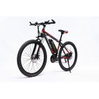 Quality Green Power 26 Inch Electric Moutain Bike , Retro Electric Bike With 36v 250w Drive Motor wholesale