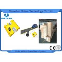 Quality CE / Iso Under Vehicle Inspection System For Hotel , 22 Inch Color Lcd Screen wholesale