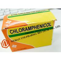 Quality Chloramphenicol Capsules 250mg Finished Medicine , Organic Gelatin Capsules For Bacterial Infections wholesale