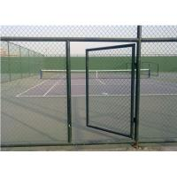 China Reliable service galvanized chain link fence / wholesale chain link fence on sale
