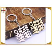 Quality Various Design Personalised Metal Letter Keyrings , Personalized Name Keychains For Him wholesale