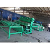 Full Auto Weld Mesh Making Machine Running Smoothly For Fence And Construction