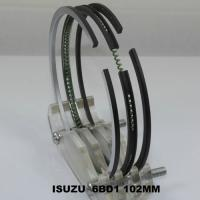 China Car 6BD1 ISUZU Engine Piston Rings Set OEM 5-12181-023-2 , Chrome Piston Rings on sale
