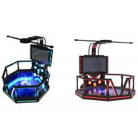 Quality Indoor Electronic 9D Virtual Reality Game Simulator For Shopping Mall wholesale