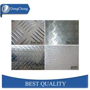 Quality Mill Finish Diamond Aluminum Sheet 0.8mm Slip Resistant Elevators Use wholesale