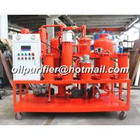 Waste Hydraulic Oil Regeneration Machine, Vacuum Hydraulic Oil Purifier, purification with online particle counter