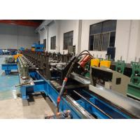 Buy cheap High Speed Channel Cable Tray Roll Forming Machine Line With Servo Flying Cutoff from wholesalers