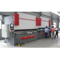 Quality High Accuracy Sheet Metal Hydraulic Shearing Machine CNC Press Brake with Italy CNC System wholesale