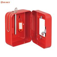 China 3 Key Tag Promotional Combination Key Box Key Cabinet With Glass Window Door on sale