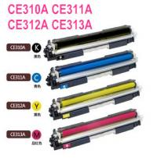 Quality Compatible Toner Cartridges(CE310A series) for HP Color LaserJet Pro CP1025/1025NW wholesale
