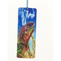 Quality Cartoon 3D Lenticular Bookmark , Custom Bookmark With Tassel Animal Style wholesale