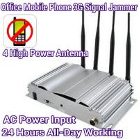 Quality 4 Antenna High Power Mobile Phone 3G/GSM Signal Jammer AC Power Home Office Signal Blocker wholesale