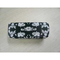 Quality Custom Safety Clamshell Eyeglass Case PU / PVC / Cloth Outside Material wholesale