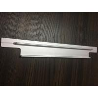 Cheap 6061 T6 Aluminium Extrusion Profiles CNC Milling Matt Silver Anodized for Solar Bracket for sale