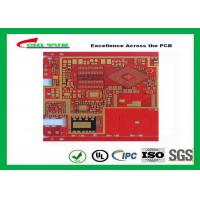 Quality Multilayer Pcb Manufacturing Impandence Control Circuit Board Pcb Layout Red Colour wholesale