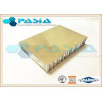 Quality Surface Plate Brushed Aluminum Honeycomb Panels 5mm / 12mm / 25mm Thickness wholesale