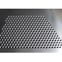 Quality Hot Dipped Perforated Galvanised Sheet , Perforated Steel Plate For Stair Tread wholesale