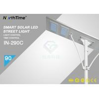 Buy cheap High Power 90 Watt Solar Powered Road Lights with 64Ah battery / APP Control from wholesalers