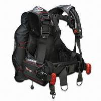 Quality Scuba Diving Buoyancy Control Device with Back-inflation Style and Two Dump Valves wholesale