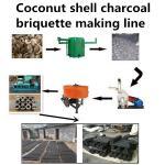 Quality Charcoal dust briquette machine makling line  Email: kelly@jzhoufeng.com wholesale