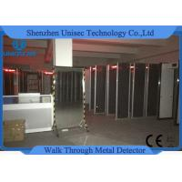 Quality Foldable Walk Through X Ray Machine , School Archway Metal Detector Portable wholesale