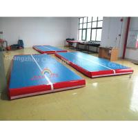 Quality Commercial Grade Inflatable Tumbling Air Track Mat for Gym Sport wholesale