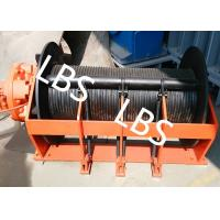 Quality Portable Small Hydraulic Cable Winch With Hydraulic Motor 10KN - 400KN wholesale