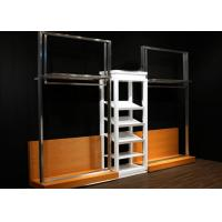 Quality Durable Metal Display Racks Clothing Boutique For Men Retail Shop Display wholesale