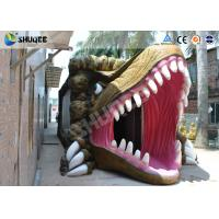 Quality Dinosaur Movie Theater Equipment With Red Comfortable Chairs wholesale