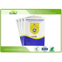 Quality Custom Saddle Stitching Notebooks with 4C Full Colors CMYK Printing 40 Pages wholesale