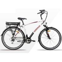 Quality City Electric Powered Bike With Light Weight Intelligent Brushless Controller wholesale