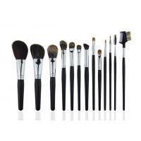 High Grade Eyebrow Comb Professional Makeup Brush Set Animal Hair Black Handle