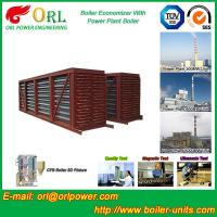 Quality Steel Condensing Economiser In Steam Power Plant , Economizer Power Plant wholesale