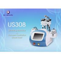 Quality Skin Lifting Laser Ultrasonic Cavitation Machine , Slimming Beauty Machine 38*60*70cm wholesale