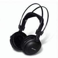Quality Infrared In-car Wireless Headphones with 30 to 20,000Hz Frequency Response and 40mm Mylar Speaker wholesale