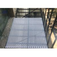 3003 6061 6063 5052 Perforated Aluminum Sheet , Alloy Aluminum Plate For Guards