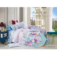 Quality Colorfule 4 Piece Bedroom Bedding Sets , Butterfly / Flower Printed Bedding Sets wholesale