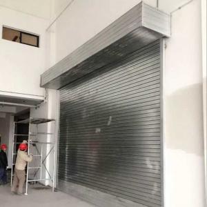 Quality Protection Rolling Door Sliding Door Roll up Garage Door for/Vehicles/Cars/Buildings wholesale