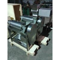 Quality Screw Press Crusher And Fruit Industrial Juicer Machine For Pineapple , Ginger , Garlic wholesale