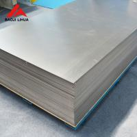 China Titanium Alloy Plate 1.0mm 1.2mm For Anodizing Jig As A Hanger on sale
