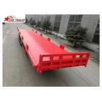 Quality 13 Meters 3 Axles 48 Ft Aluminum Flatbed Trailer 13165x2550x1500mm wholesale