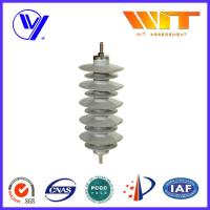 Quality Substation Composite Metal Oxide Surge Lightning Arrester Lightweight Protection Device wholesale