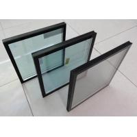 Quality Euro Grey / Bronze / Ford Blue Replacement Insulated Glass Panels Construction Building Glass wholesale