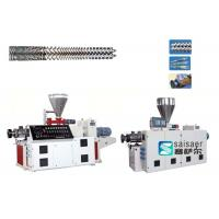 Quality Industrial Plastic Sheet Extrusion Machine Conical Twin Screw Extruder Machine wholesale