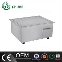 Quality built in induction griddle cooker with 220v for kitchen equipment wholesale