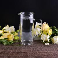 Quality 990Ml Borosilicate Double Wall Glass Tableware Clear Glass Jug For Water wholesale