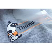 China Screen Print Heat Transfer Clothing Labels Custom Iron On Stickers on sale