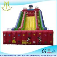 Cheap Hansel Best Quality and Safe Painting Inflatable Slide for Sale for sale