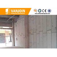 Quality Spacing Save composite structural panels / Sand Cement Eps Panel Outer Cladding Wall wholesale